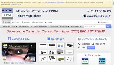 Site internet de Epdm Tpo