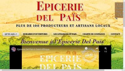 Site internet de Epicerie Del Pais
