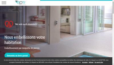 Site internet de Embellissement par Moquette de Pierres