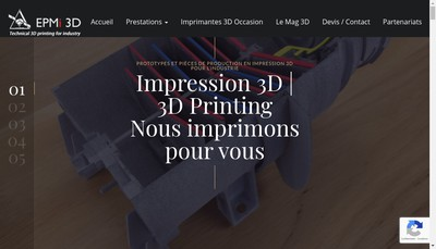 Site internet de SARL Epmi