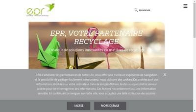 Site internet de European Products Recycling