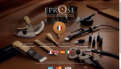 Site internet de Eprose