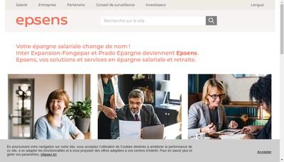 Site internet de Epsens