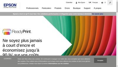 Site internet de EPSON