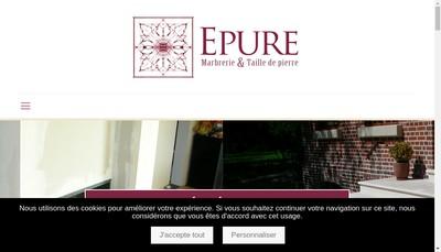 Site internet de SARL Epure