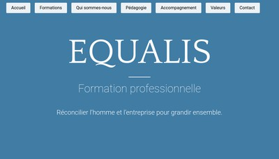 Site internet de Equalis