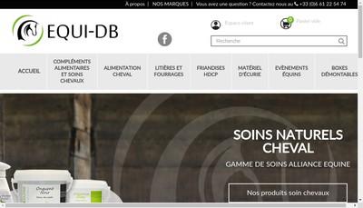 Site internet de Equi Db