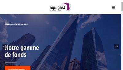 Site internet de Groupe Equigest - Equigest Alternative