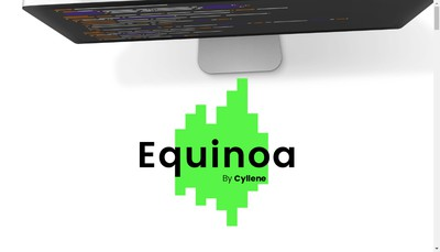 Site internet de Equinoa - Cyllene