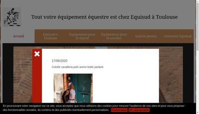 Site internet de Equi-Sud