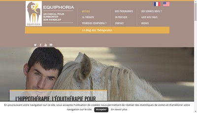 Site internet de Alliance Equiphoria