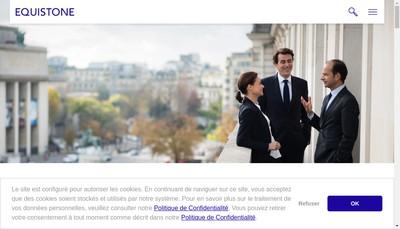 Site internet de Equistone