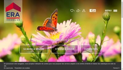 Site internet de Agence des Trois Rivieres