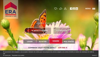 Site internet de Era ILV Immobilier