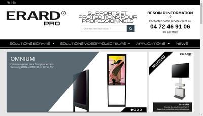 Site internet de Erard'Pro