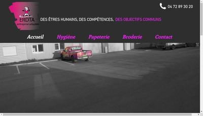 Site internet de ERDTA