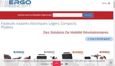 Site internet de Ergoconcept
