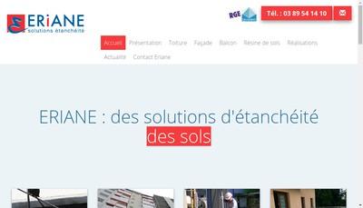 Site internet de Eriane