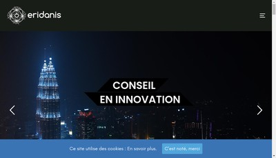 Site internet de Eridanis France