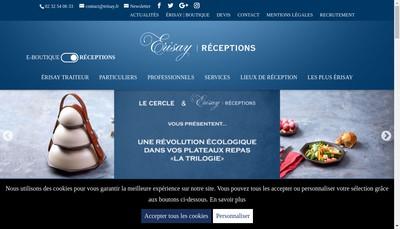 Site internet de Erisay