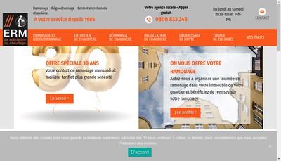 Site internet de Erm
