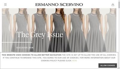 Site internet de Ermanno Scervino