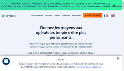 Site internet de Ermeo