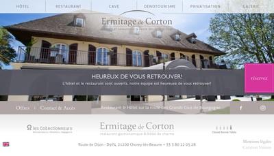 Site internet de Ermitage de Corton