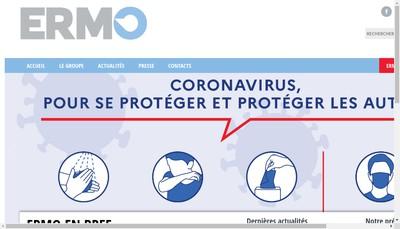 Site internet de Ermo