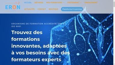Site internet de Eron