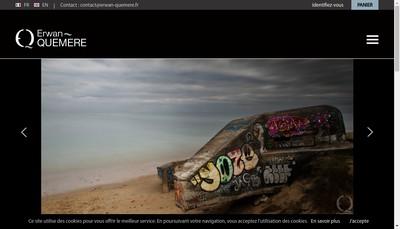 Site internet de Erwan Quemere