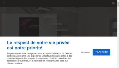 Site internet de Les Escaliers Mougin