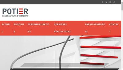Site internet de Les Createurs d'Escaliers