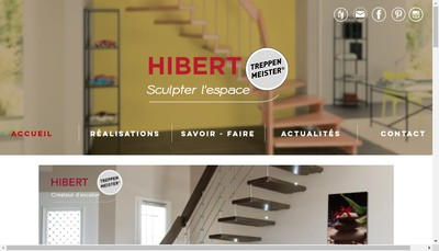 Site internet de Hibert
