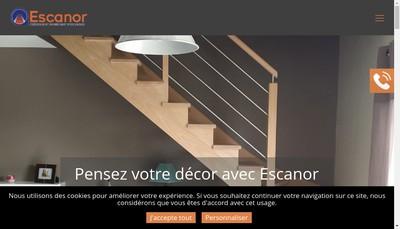 Site internet de Escanor