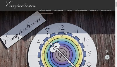 Site internet de Escape Dream