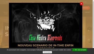 Site internet de In Time