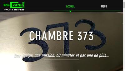 Site internet de Escape Game Poitiers