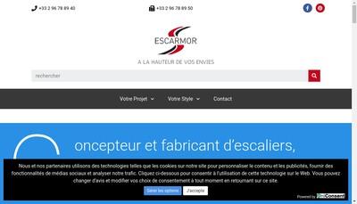 Site internet de Escarmor