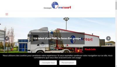 Site internet de Escoort