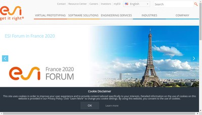 Site internet de Esi France