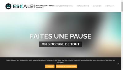 Site internet de Eskale