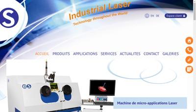 Site internet de Es Laser