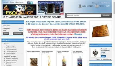 Site internet de Esocalice