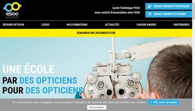 Site internet de Ecole Superieure d'Optique de l'Ouest