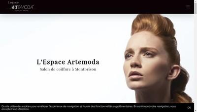 Site internet de Espace Evolution