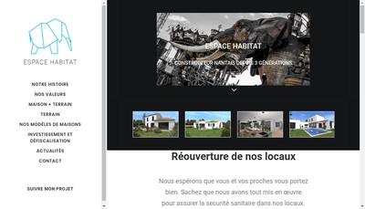 Site internet de Azur Habitat