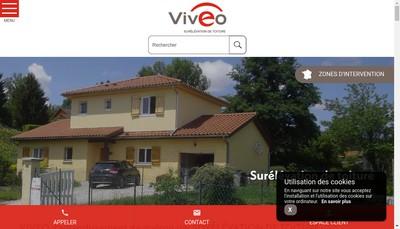 Site internet de Viveo