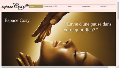 Site internet de Espace Cosy
