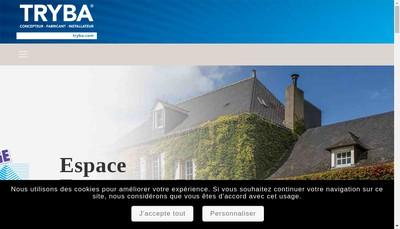 Site internet de Espace Fermetures 78
